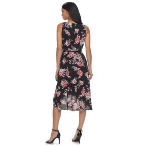 Women's ELLE™ Ruffle High-Low Hem Dress
