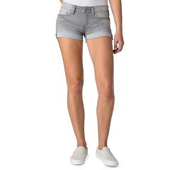 Juniors' DENIZEN from Levi's Cuffed Shortie Jean Shorts