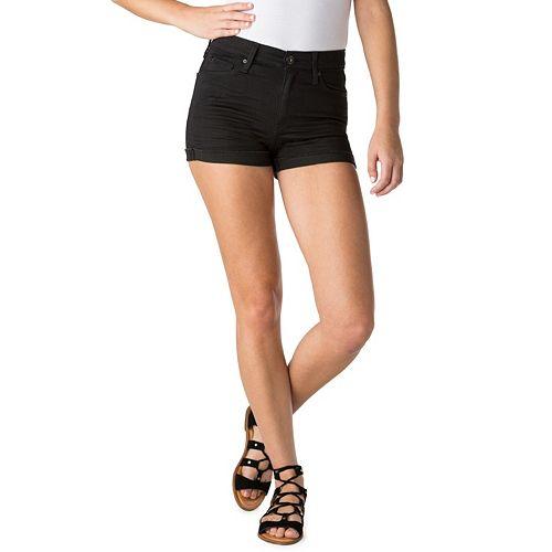 6c9c00a3 Shoptagr | Juniors' Denizen From Levi's Shortie Jean Shorts by Kohl's