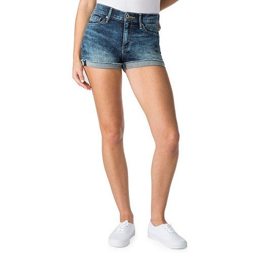Juniors' DENIZEN from Levi's Shortie Jean Shorts