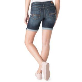 Juniors' DENIZEN from Levi's Cuffed Midi Jean Shorts
