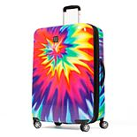 FUL Tie-Dye Swirl Hardside Spinner Luggage