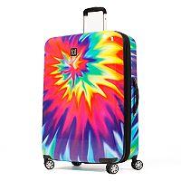 FUL Tie-Dye Swirl Hardside Spinner Luggage