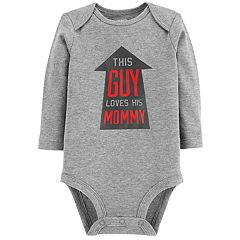 Baby Boy Carter's 'This Guy Loves His Mommy' Bodysuit