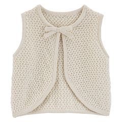 Baby Girl OshKosh B'gosh® Textured Lurex Vest