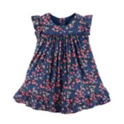 Baby Girl OshKosh B'gosh® Floral Ruffle Swing Dress