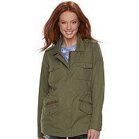 Women's Rock & Republic® Military Twill Anorak Jacket