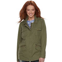 Women's Rock & Republic® Military Twill Anorak Jacket