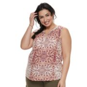 Plus Size SONOMA Goods for Life™ Printed Tank