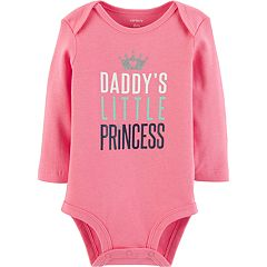 Baby Girl Carter's 'Daddy's Little Princess' Graphic Bodysuit