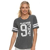 Juniors' Harry Potter Platform 9 3/4 Varsity Graphic Tee