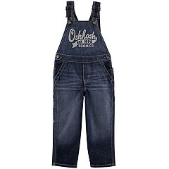 Baby Boy OshKosh B'gosh® 'Oshkosh' Dark Denim Overalls