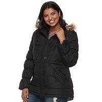 Juniors' Plus Size Urban Republic Puffer Anorak Jacket