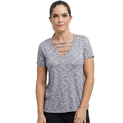 Women's Balance Collection Riley Strappy V-Neck Tee