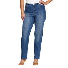 Plus Size Gloria Vanderbilt Amanda Embellished Jeans