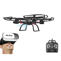 Swift Stream Z-32VR Wi-Fi Camera Drone & Virtual Reality Goggles Set