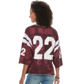 "Juniors' Vanilla Star ""22"" Football Jersey"