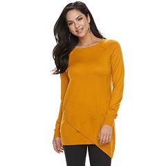 Women's Apt. 9® Asymmetrical Tunic Sweater