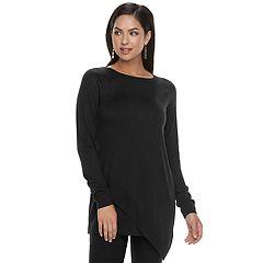 Women's Apt. 9® Asymmetrical Tunic Sweater