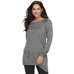 edce25af88d Women s Apt. 9® Asymmetrical Tunic Sweater