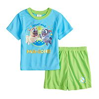 Disney's Puppy Dog Pals Bingo & Rollo Toddler Boy Top & Shorts Pajama Set