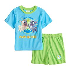 Disney's Puppy Dog Pals Bingo & Rollo Toddler Boy Top & Shorts Pajama Set