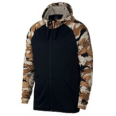 Men's Nike Camo-Sleeve Full-Zip Hoodie