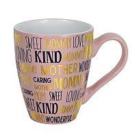 Enchante Mom Word Toss Mug