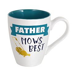 Enchante Father Mows Best Mug