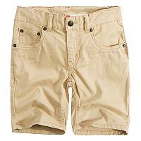 Boys 4-7x Levi's 511 Slim Fit Soft Brushed Shorts