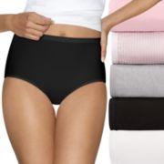 Women's Hanes Ultimate 5-pk. + 2 Bonus Comfort Ultra Soft Brief Panties 40HUC7