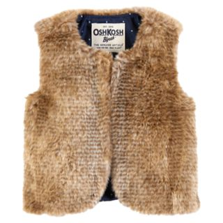 Baby Girl OshKosh B'gosh Faux-Fur Vest