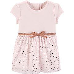 Baby Girl OshKosh B'gosh® Star Tulle Dress
