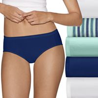 Women's Hanes Ultimate 5 pk+ 2 Bonus Comfort Ultra Soft Hipster Panties 41HUC7