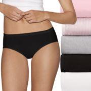 Women's Hanes Ultimate 5-pk. + 2 Bonus Comfort Ultra Soft Hipster Panties 41HUC7