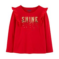 Baby Girl OshKosh B'gosh® 'Shine' Sequined Graphic Top