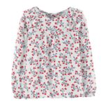 Baby Girl OshKosh B'gosh® Floral Ruffled Top