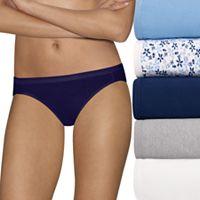 Women's Hanes Ultimate 5 pk+ 2 Bonus Comfort Ultra Soft Bikini Panties 42HUC7