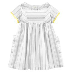 Baby Girl OshKosh B'gosh® Striped Babydoll Dress