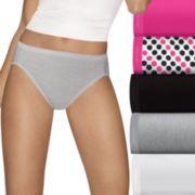 Women's Hanes Ultimate 5-pk. + 2 Bonus Comfort Ultra Soft Hi-Cut Panties 43HUC7