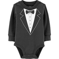 Baby Boy Carter's Tuxedo Graphic Bodysuit