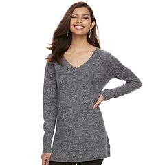 Women's Apt. 9® Cashmere V-Neck Tunic
