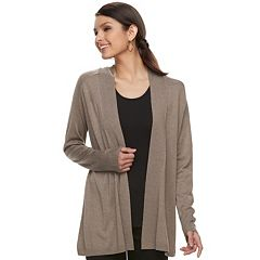 Women's Apt. 9® Essential Ribbed Cardigan