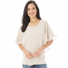 Women's Apt. 9® Crochet Popover Top