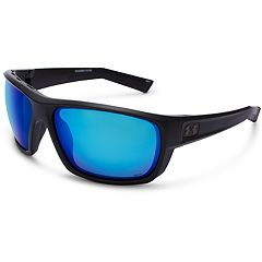 Men's Under Armour Launch Polarized Square Sunglasses