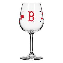Boelter Boston Red Sox Polka-Dot Wine Glass