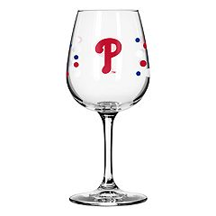 Boelter Philadelphia Phillies Polka-Dot Wine Glass