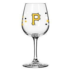 Boelter Pittsburgh Pirates Polka-Dot Wine Glass