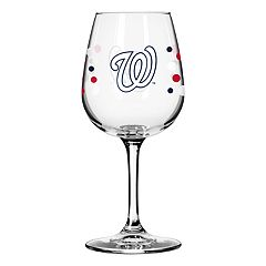 Boelter Washington Nationals Polka-Dot Wine Glass