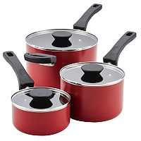 Farberware Neat Nest 6-pc. Saucepan Set